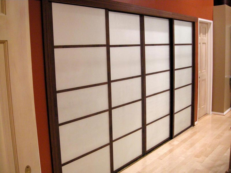 bifold frosted glass closet doors