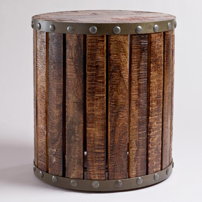 drum coffee table design
