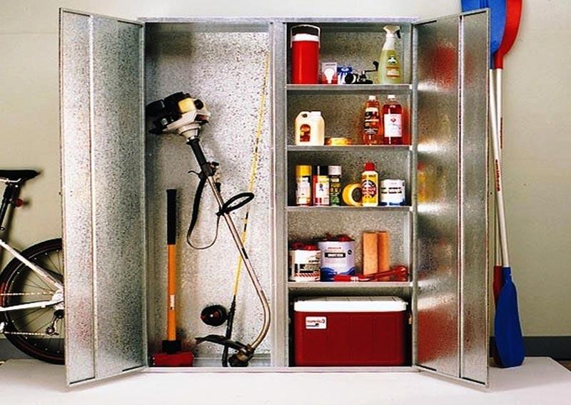 free standing broom cupboard