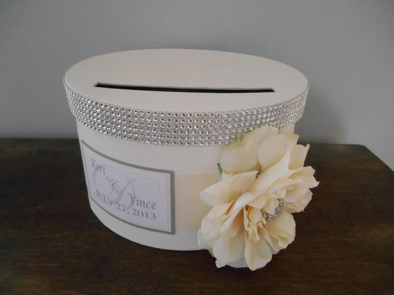 how to decorate a box for wedding cards