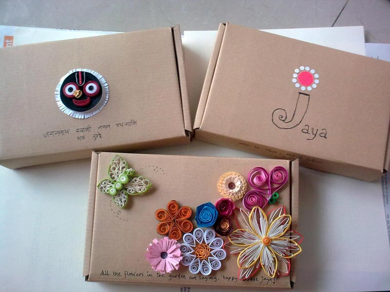 how to decorate a box