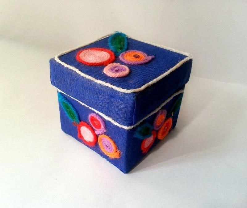 how to make a jewelry box at home