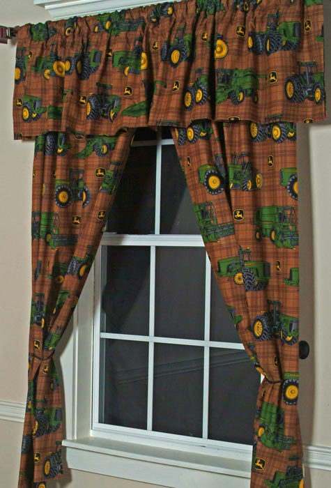 63 inch curtains with valance