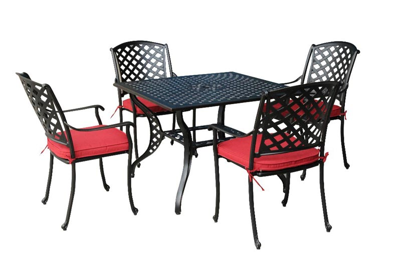 b&m garden table and chairs