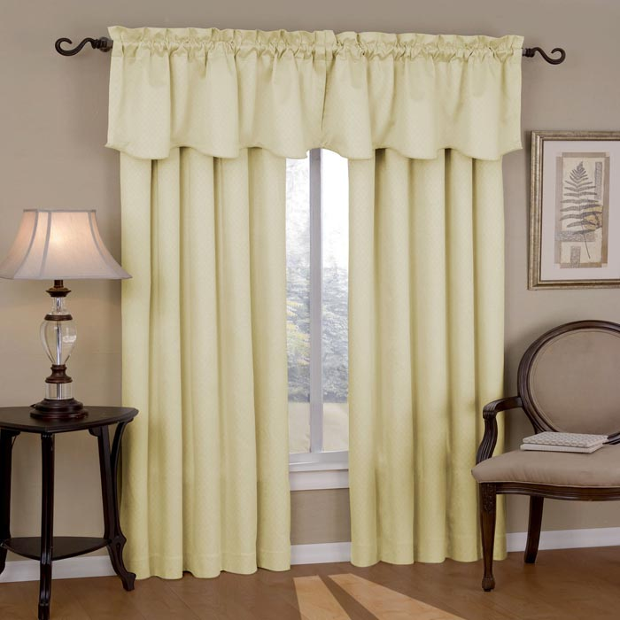 curtains with built in valance