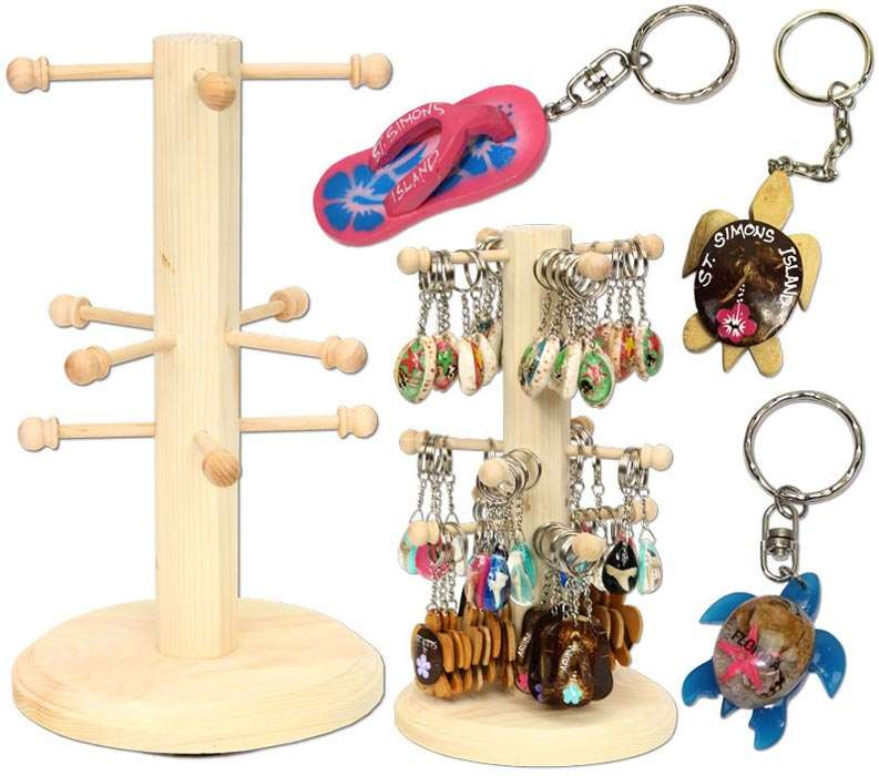 Display Stand For Key Rings. Picture: Supplied