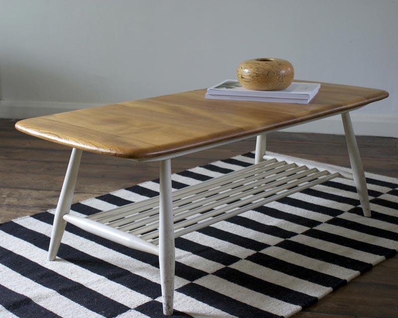 ercol artisan coffee table
