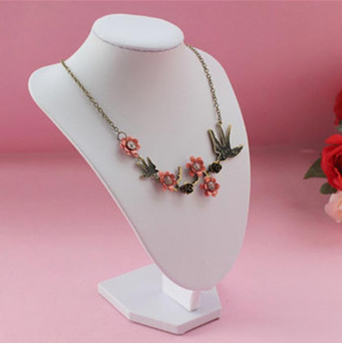 neck stand for jewelry