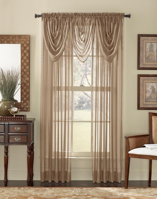 sheer curtains with valances