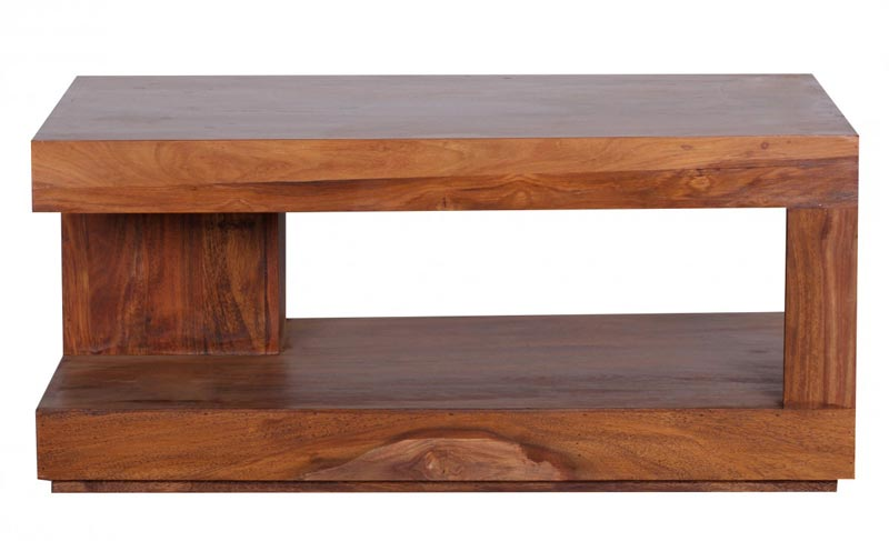 assam solid sheesham coffee table