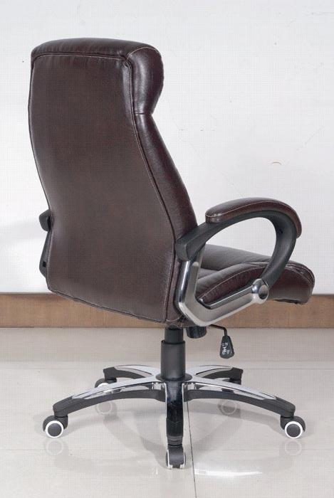 bicast leather swivel club chair