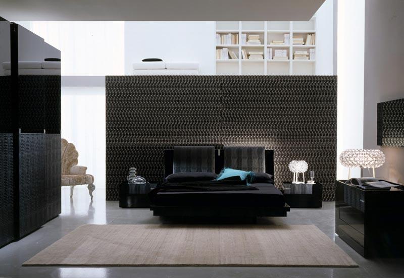black bedroom furniture decor