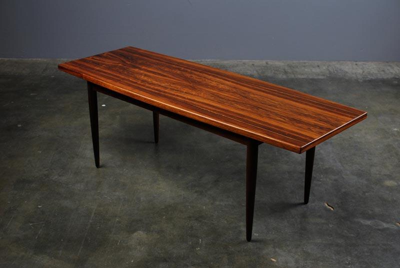danish rosewood coffee table uk