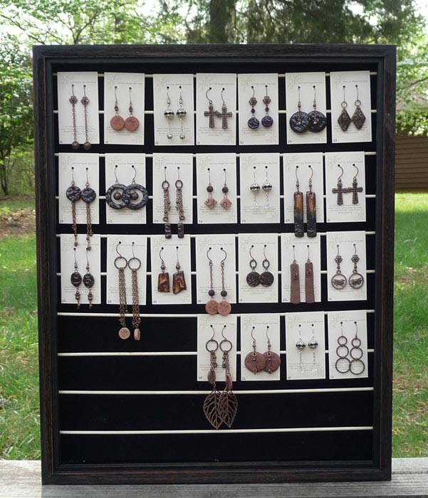 Display Stand For Earrings. Picture: Peter Burka Source:Flickr