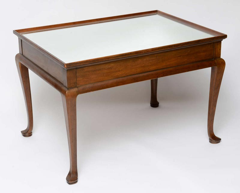 heals coffee table queen anne style