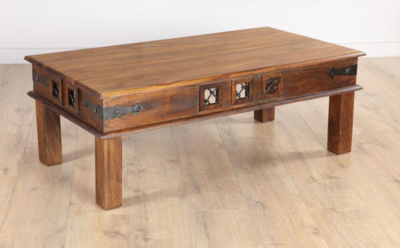 sheesham wood coffee table uk