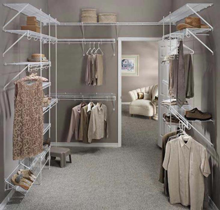 walk in closet ideas cheap