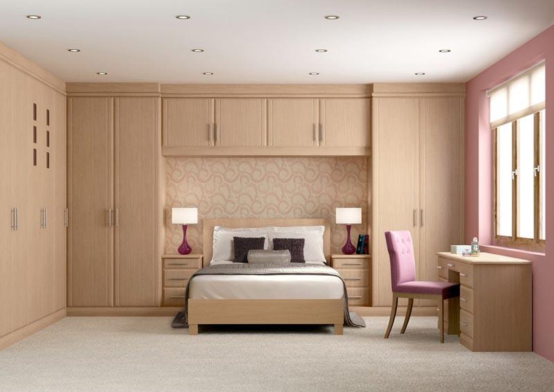 bedroom wardrobes built in
