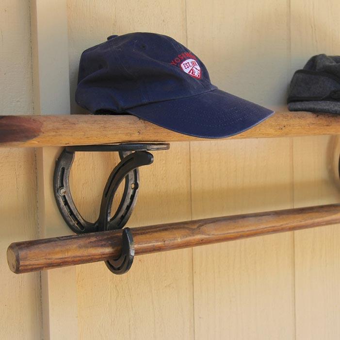 closet shelf and rod