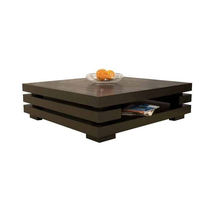 coffee table in wenge