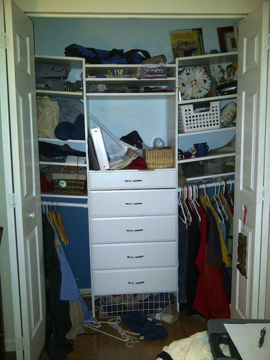 custom closet ideas diy