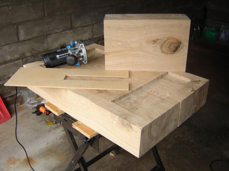 how to make a railway sleeper coffee table