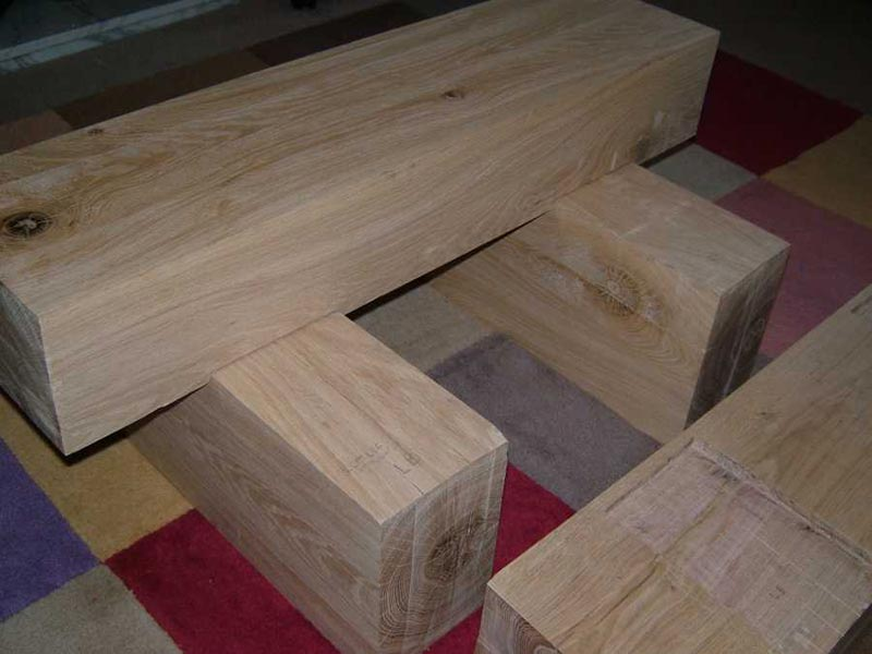 how to make railway sleeper coffee table