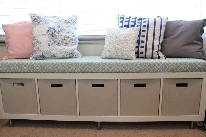 long storage bench seat