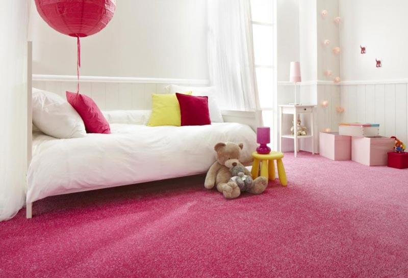 pink bedroom carpet