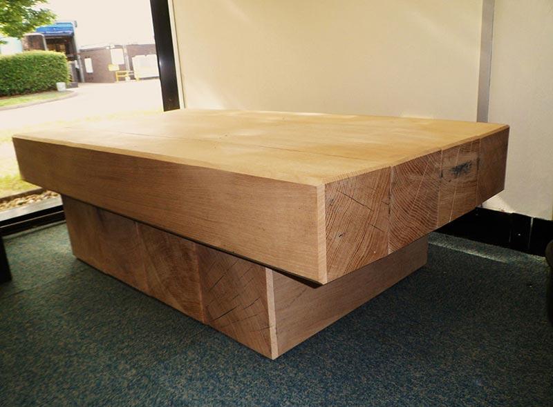 railway sleeper coffee table design