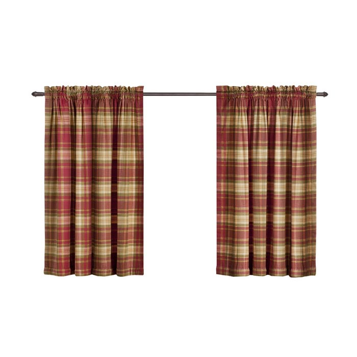 tartan curtains ebay