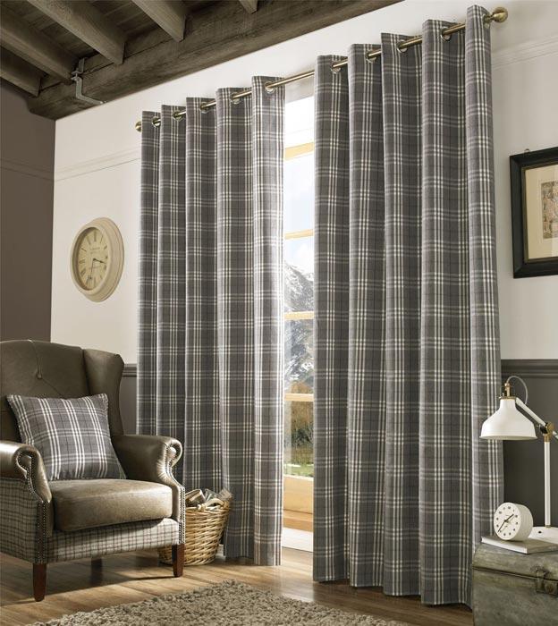 tartan curtains uk