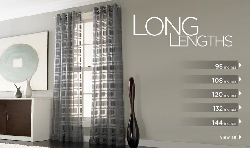 where to find curtains longer than 84 inches
