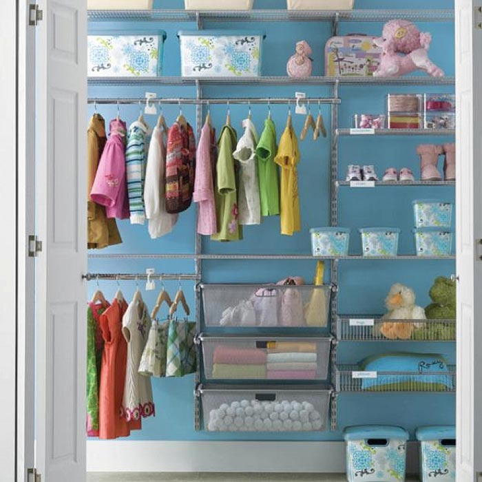 closet storage and organization ideas