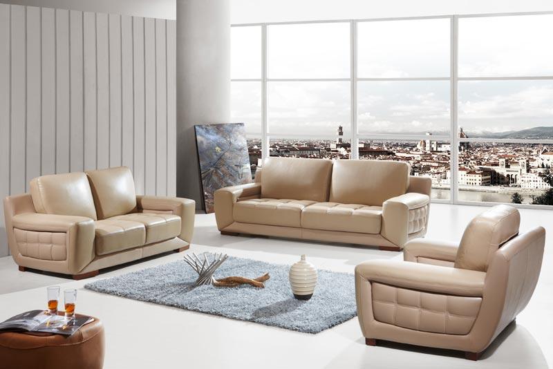 fagio genuine italian leather sofa sets