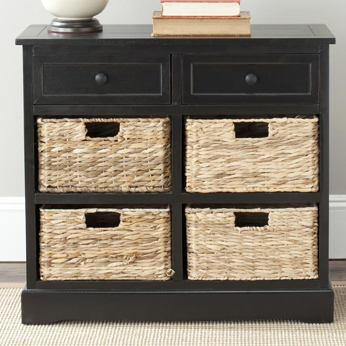 hall bench storage unit to hold up to 6 baskets