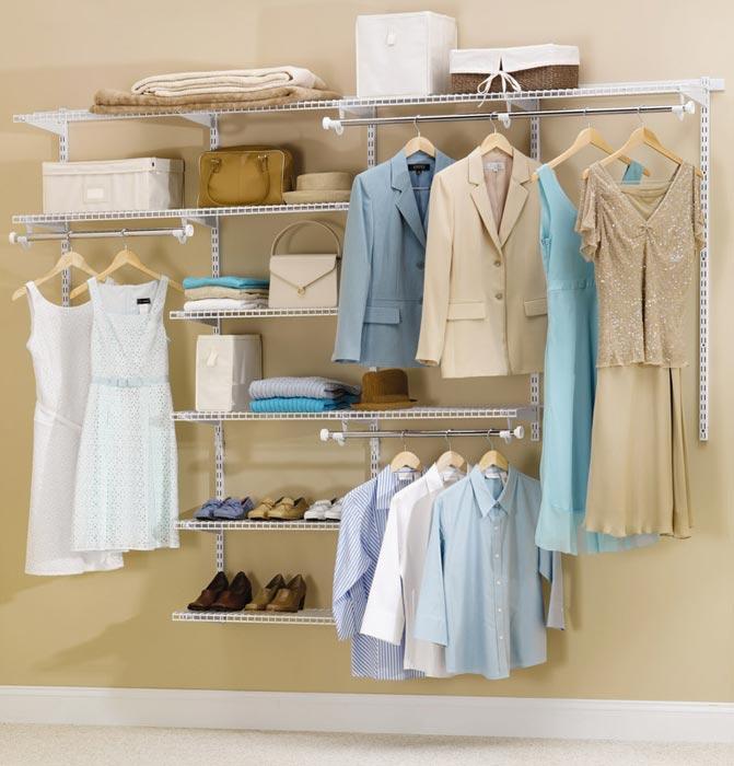rubbermaid closet system ideas