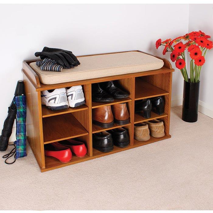 shoe storage benches uk