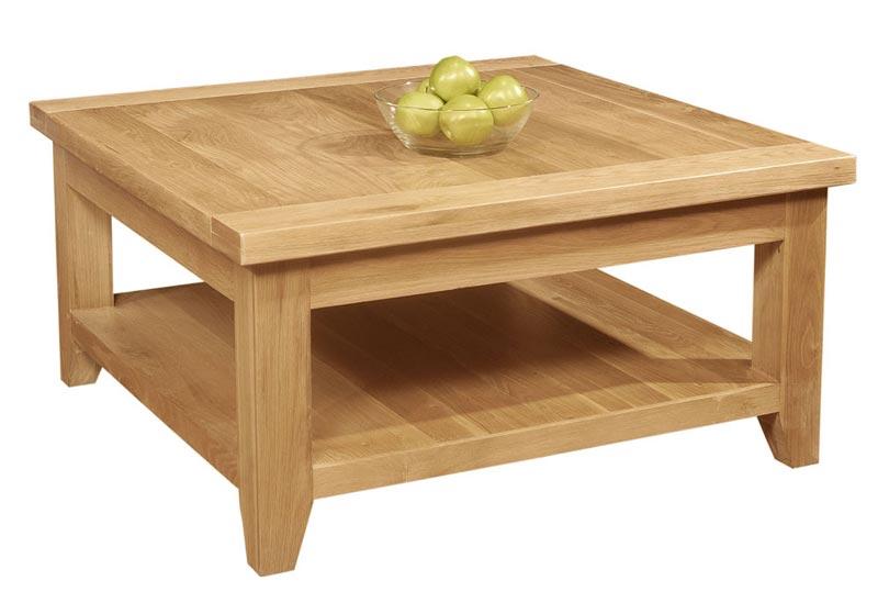 square oak coffee tables uk