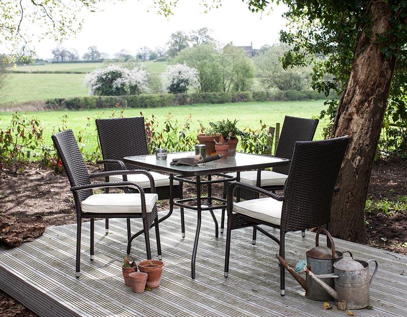 welbeck 4 seater garden furniture
