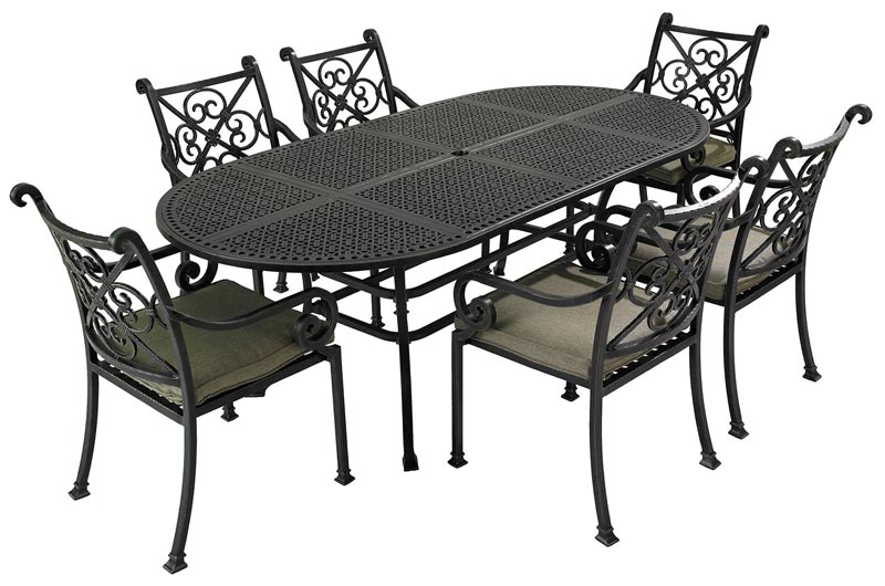 welbeck garden table and chairs