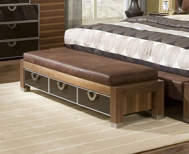 bedroom benches with storage plans