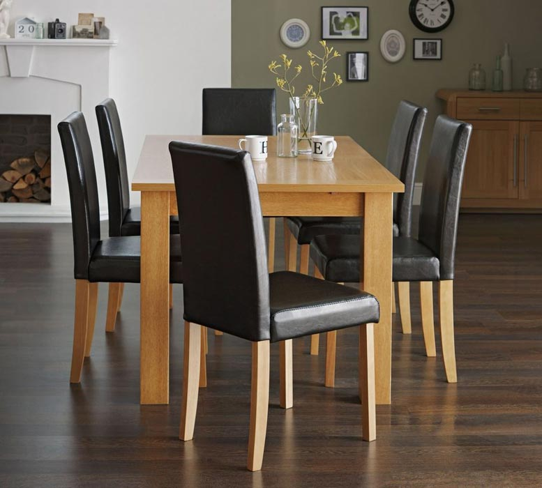 dining table and 6 chairs argos