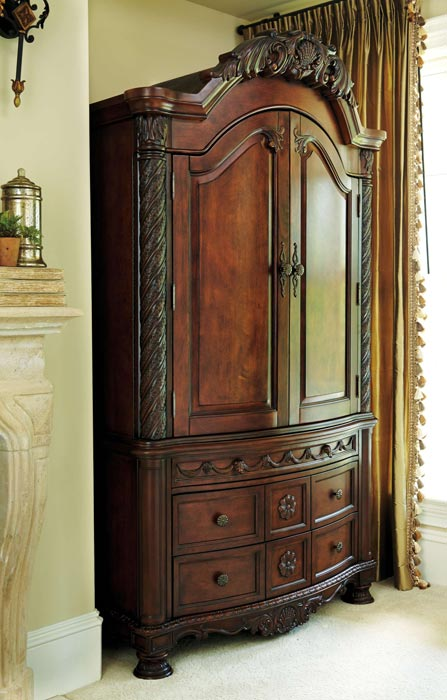 ashley furniture bedroom armoires