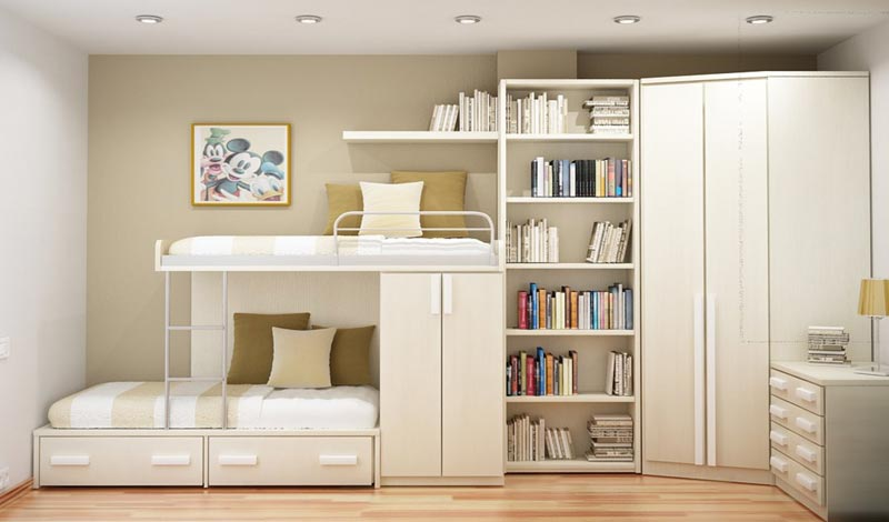 bedroom cabinet designs for small spaces