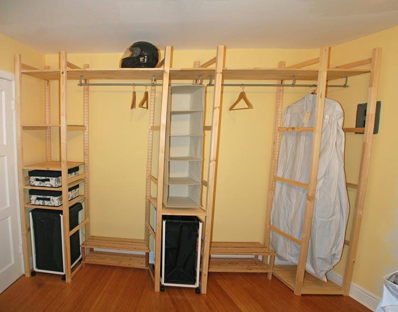 cheap custom closet systems