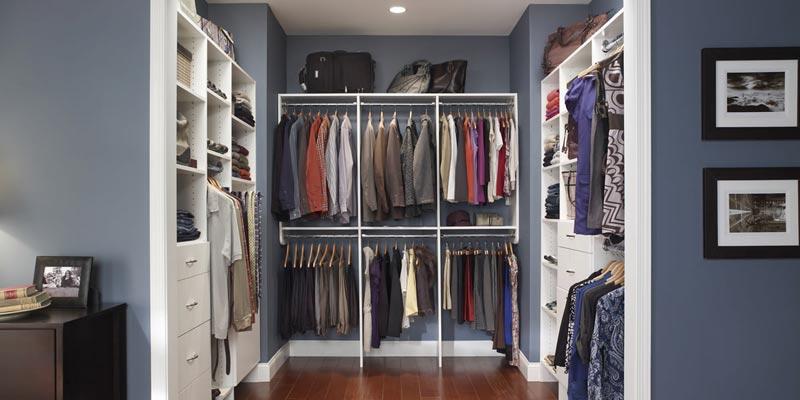 cheap walk in closet systems