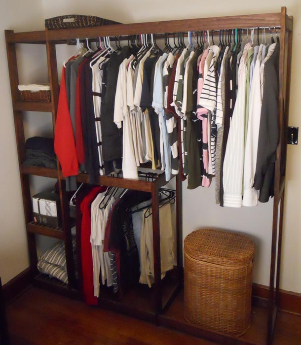 custom closet organizer