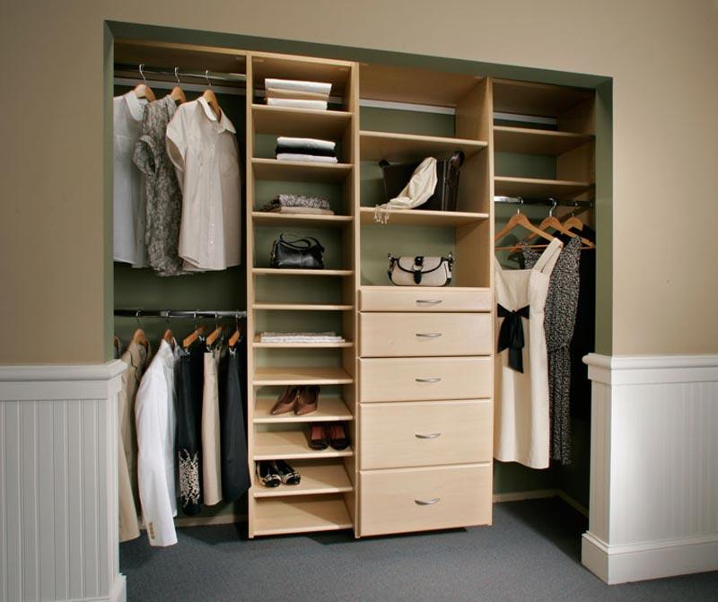 custom made closet organizers