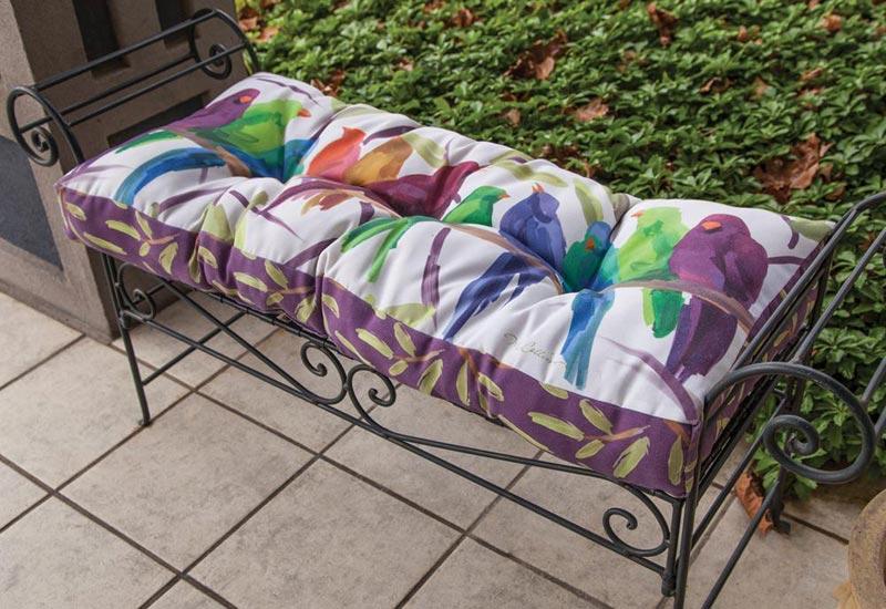 patio furniture bench cushions